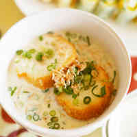 Taiwanese-Style Soy Milk Soup for Breakfast (Xian Dou Jiang)