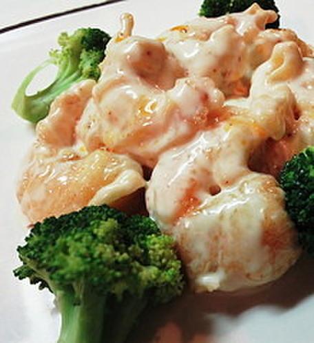 Ebimayo - Batter-fried Shrimp with Ra-yu Mayo Sauce