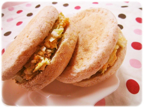 English Muffin and Avocado Egg Sandwich