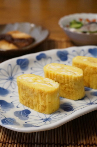 Sweet & Thick Tamagoyaki (Rolled Omelette)