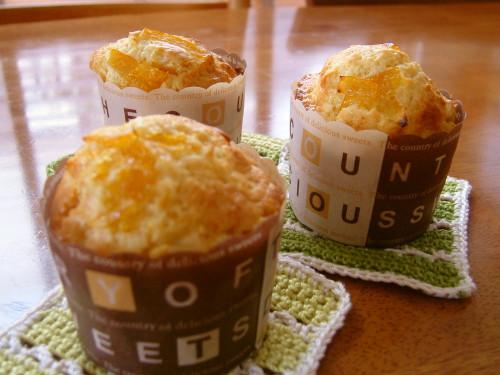 Pancake Mix Marmalade Muffins in 1 Bowl