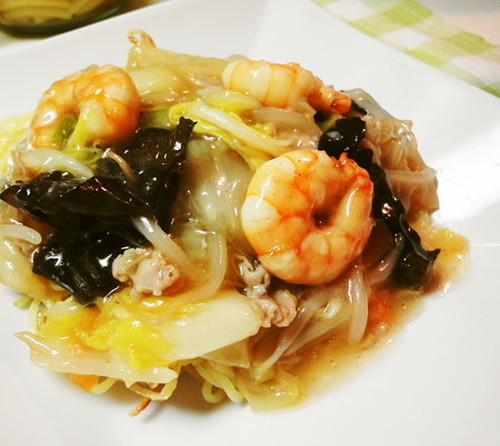 * Light and Delicious * Salt-Flavoured Happosai (Eight Treasure Stir-Fry) *
