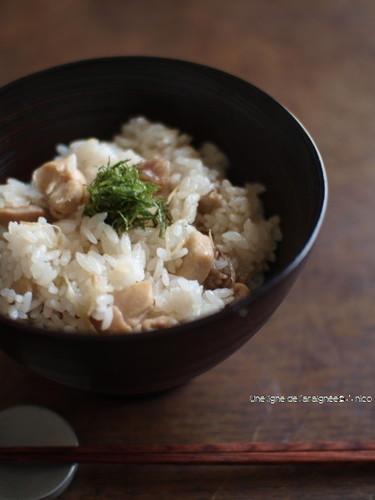 Ginger Chicken Rice