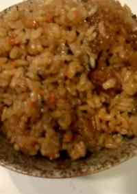 Flavored Rice Made With Chunky Stew