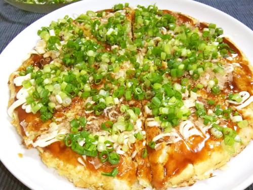 Fluffy Tofu Okonomiyaki