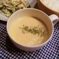 Drinkable Tofu & Corn Potage