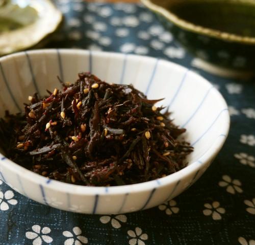 Homemade Shiso Hijiki Seaweed