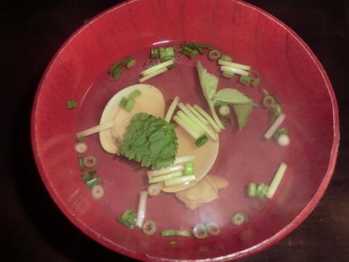 Hamaguri Clam Clear Broth