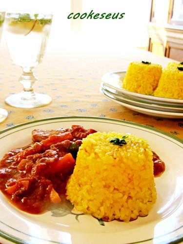 Saffron Rice for Entertaining