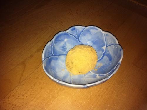 Potato Filled Kinako Mochi