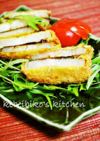 Deep-Fried Sandwiched Sweet Onion and Sweet Miso