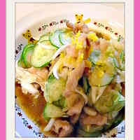 Sweet Onion, Cucumber, and Tender Pork Marinade