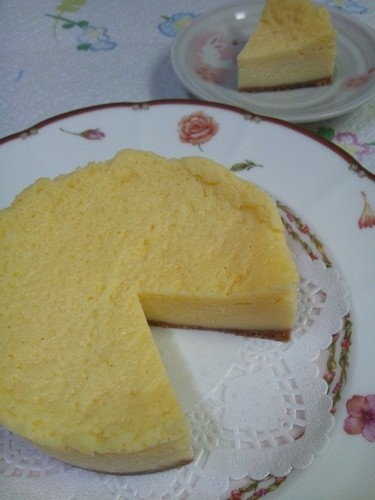 Microwaved NY-style Cheesecake