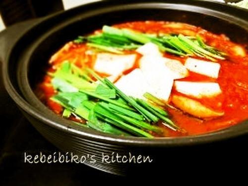Kimchi Hot Pot Sundubu Jjigae Style