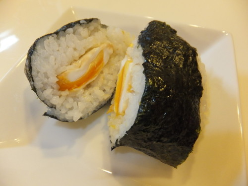 Onigiri (Rice Ball) with Fried Egg
