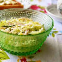 Spring Cabbage Coleslaw