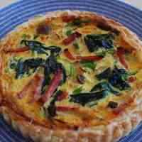 Easy Quiche with Frozen Puff Pastry