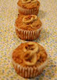 Healthy Macrobiotic-Style Banana Muffins