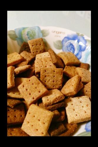 Low Calorie Okara Cookies