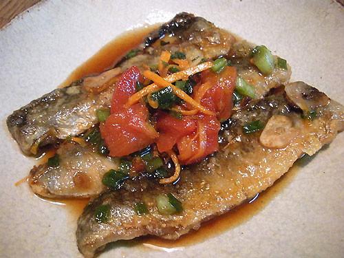 Sardines Marinated in Tomato Nanban Sauce