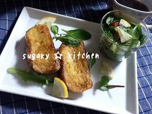 French Toast Baguettes with Shio-Koji
