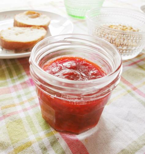 Microwave Low-Sugar Strawberry Jam