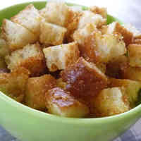 Garlic Cheese Croutons