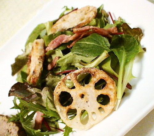 Simple Lotus Root Salad