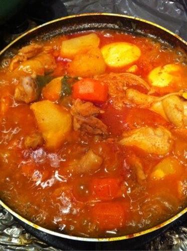 Korean Sweet and Spicy Hot Daktoritang