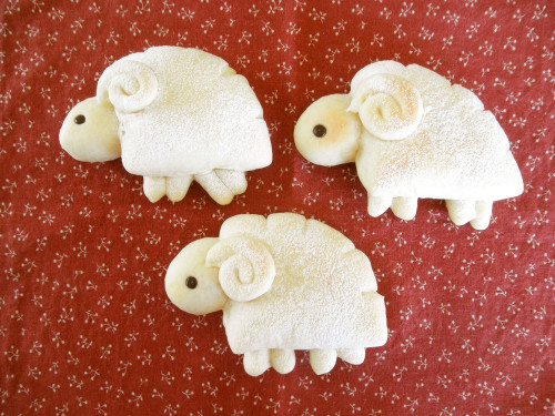 Fluffy Sheep Cream Bread