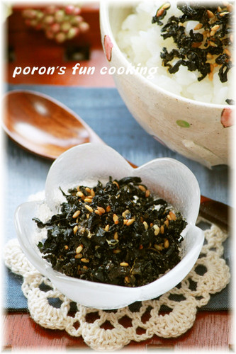 Crunchy Tsukudani-style Furikake Rice Seasoning