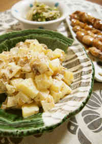 German Potatoes with Coarsely Ground Sausages