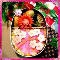 Cherry Blossom Bento for Hanami Viewing