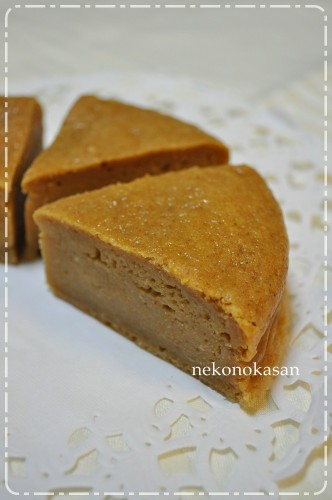 Easy with Pancake Mix Tofu and Roasted Soy Flour Cake