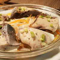 Yellowtail with Shio-Koji Steamed in a Microwave