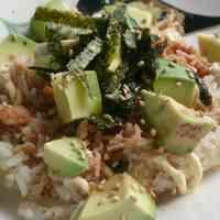 Café Style Avocado Rice Bowl in 5 minutes