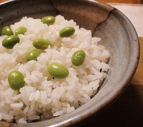 Edamame Rice with Shio-Koji
