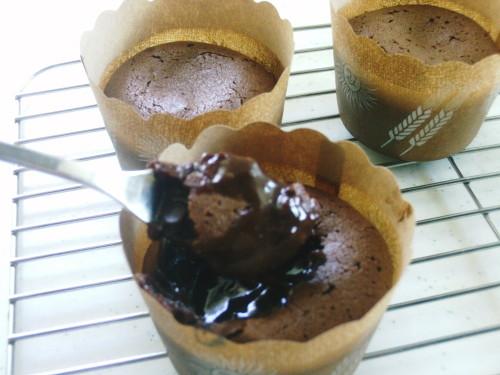 Easy Molten Chocolate Cake