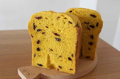 Raisin Bread with 50% Kabocha Squash