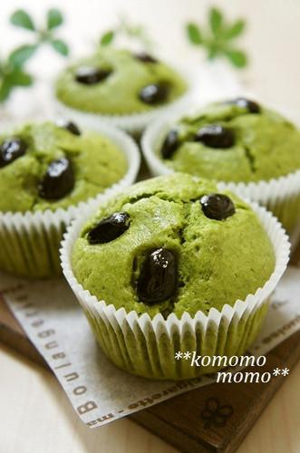 Milky with Condensed Milk Matcha Muffins