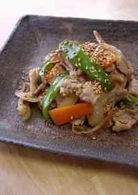 Pork, Sesame Seed & Ginger Stir Fry