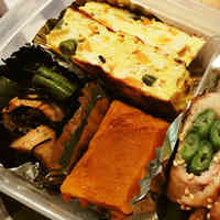 For Bento Lunch Boxes (Tofu & Shio-Koji Omelette)