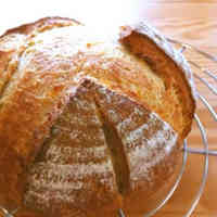 Soy Milk & Brown Sugar Syrup Pain de Campagne