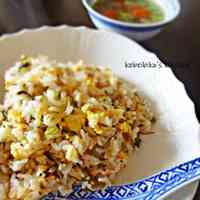 Takana & Fermented Krill Fried Rice