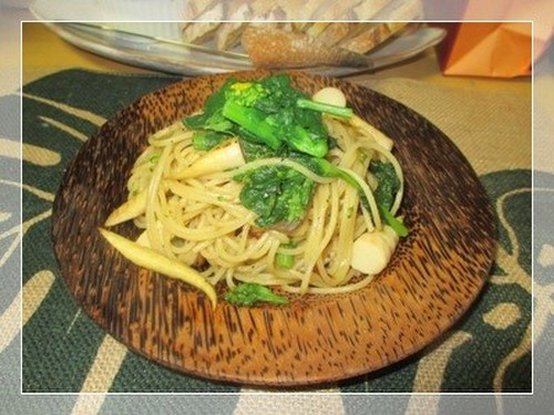 Nanohana Japanese-Style Pasta