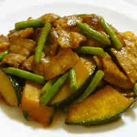 Whet Your Appetite! Stir-Fried Kabocha Squash with Chinese-Seasoning
