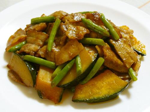 Whet Your Appetite! Stir-Fried Kabocha Squash with Chinese-Seasoning