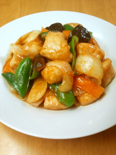 Delicious and Healthy Sweet & Sour Pork With Chicken Tenders