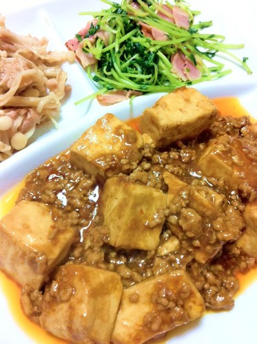 Easy Speedy Mapo Tofu