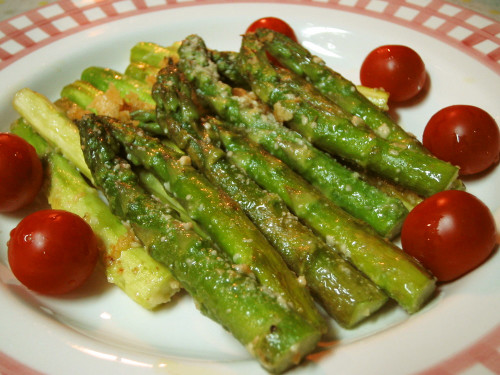 Asparagus in Olive Oil